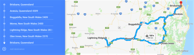 Lightning Ridge Trip