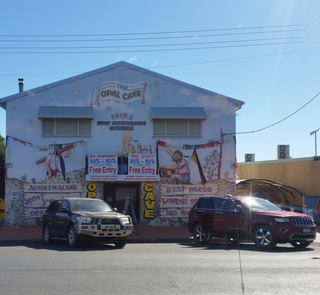 The Opal Cave - Main Street