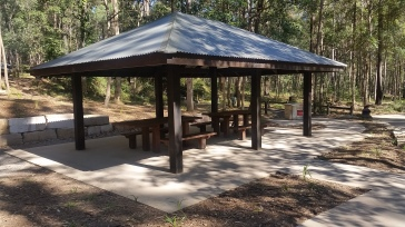 Electric BBQ & Picnic Shelter