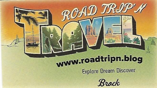 ROAD TRIP'N Business Card