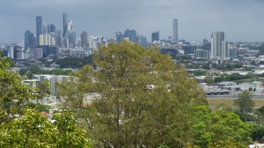 Brisbane CBD Views from Bartleys Hill Lookout