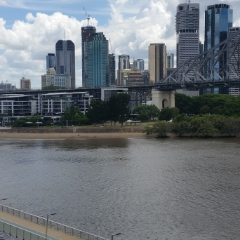 Views to Kangaroo Point and the Story Bridge