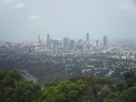 Brisbane Skyline Views - Mt Coot-tha Lookout