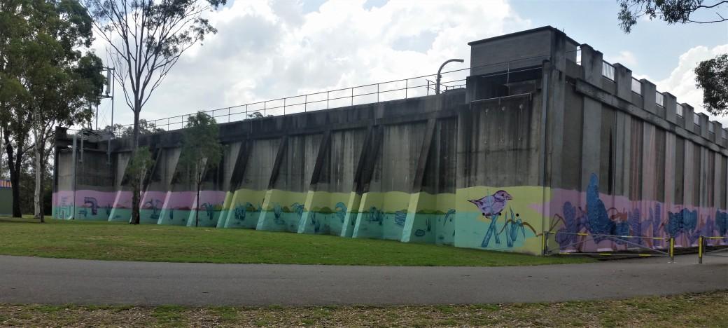 The Monolith. Green Hill Reservoir