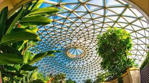 The Dome full of Exotic plants