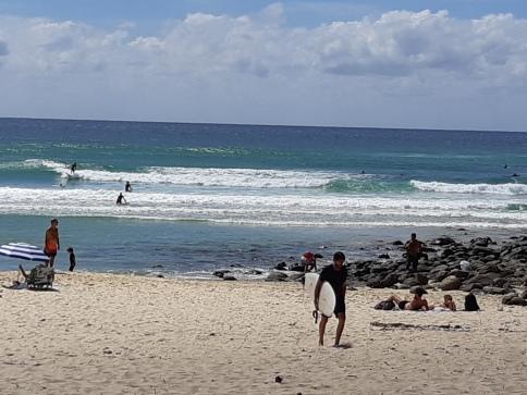 Swim & Surf at Burleigh