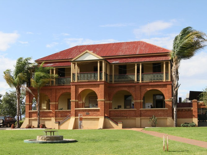 The Great Cobar Heritage Centre, once the Mines Office (1910)