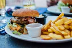 Gourmet Burgers and Chips