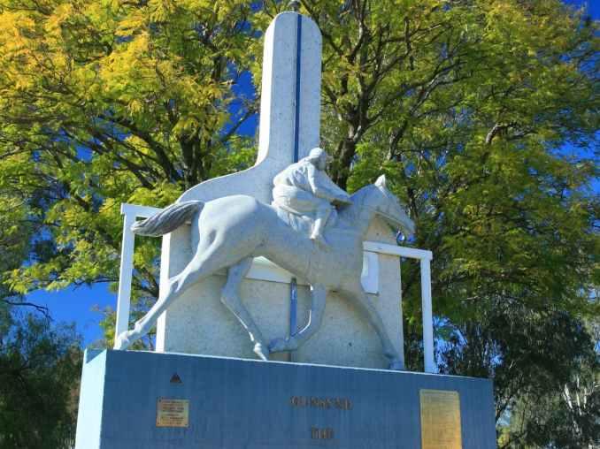 Gunsynd Statue Goondiwindi
