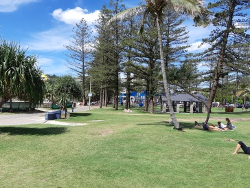 Relax in the Park at Burleigh Heads