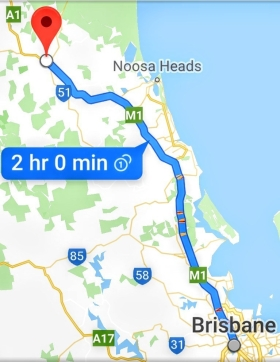 Brisbane to Gympie