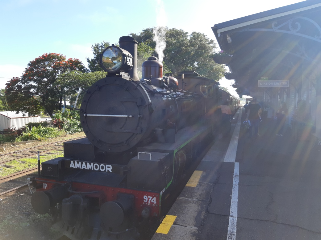 The Mary Valley Rattler at Gympie Station