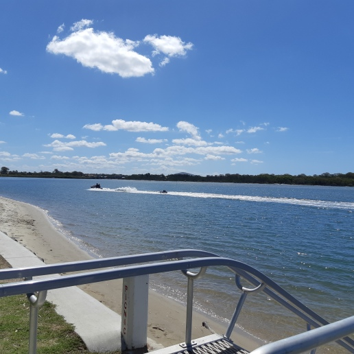 Jet Ski's on the Maroochy River