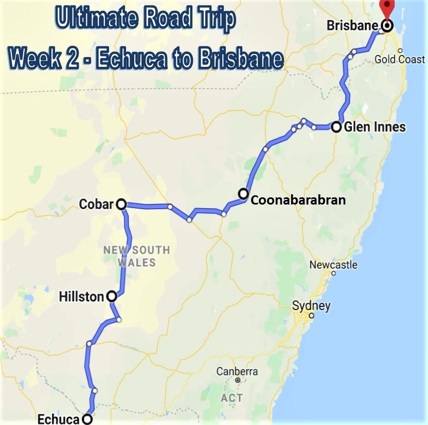 Ultimate Road Trip - Week 2