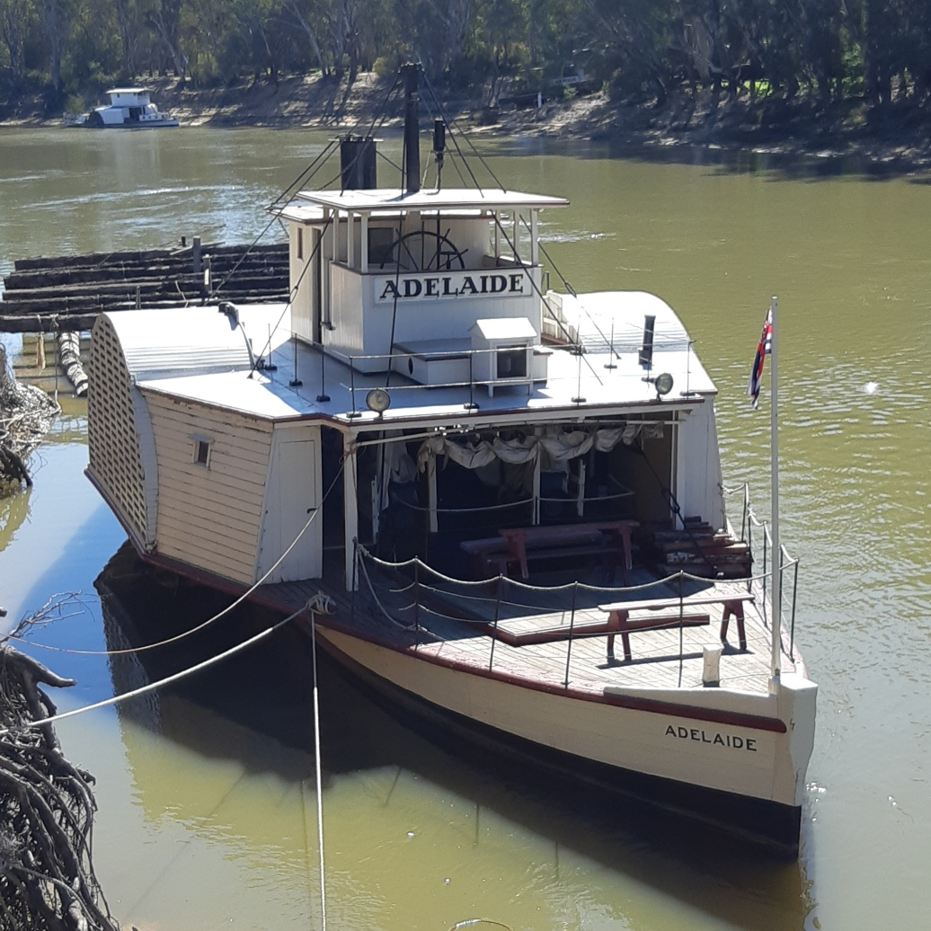 Paddle Steamers on the Murray