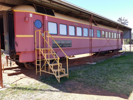 Silver City Comet Carriage