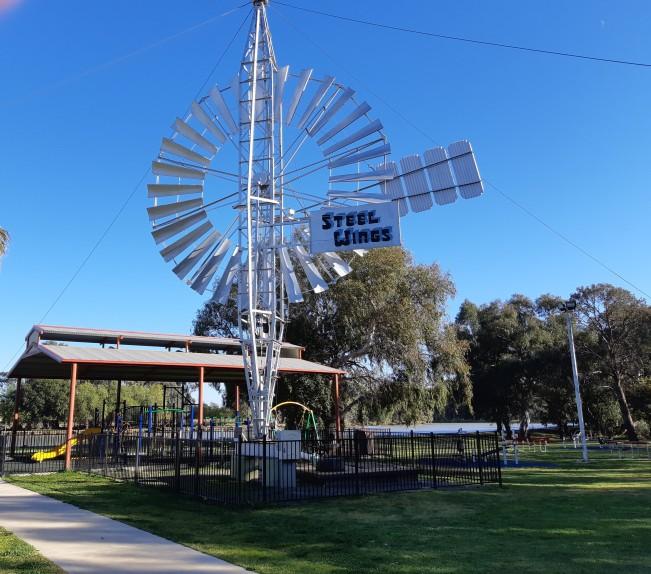 Steel Wings Windmill