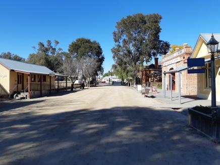 The Port of Echuca Main Street