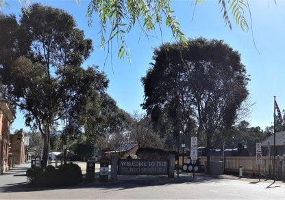 The Port of Echuca Welcome