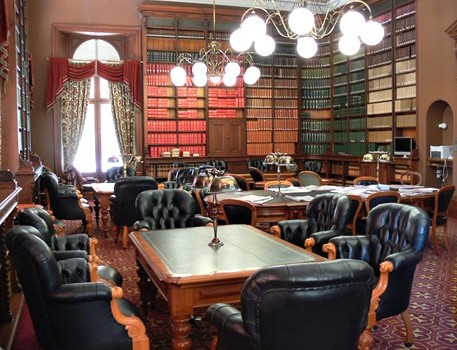 O'Donovans Library. Members reading Room