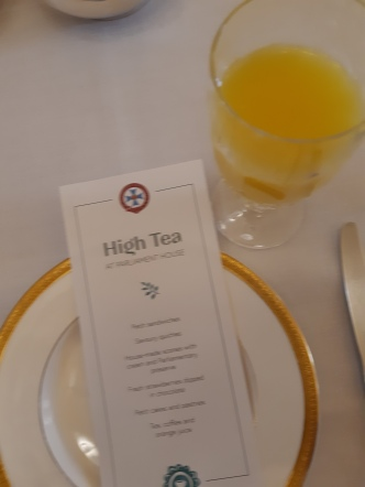 High Tea @ Parliament House