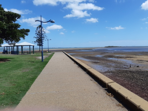 Walking along the Foreshore