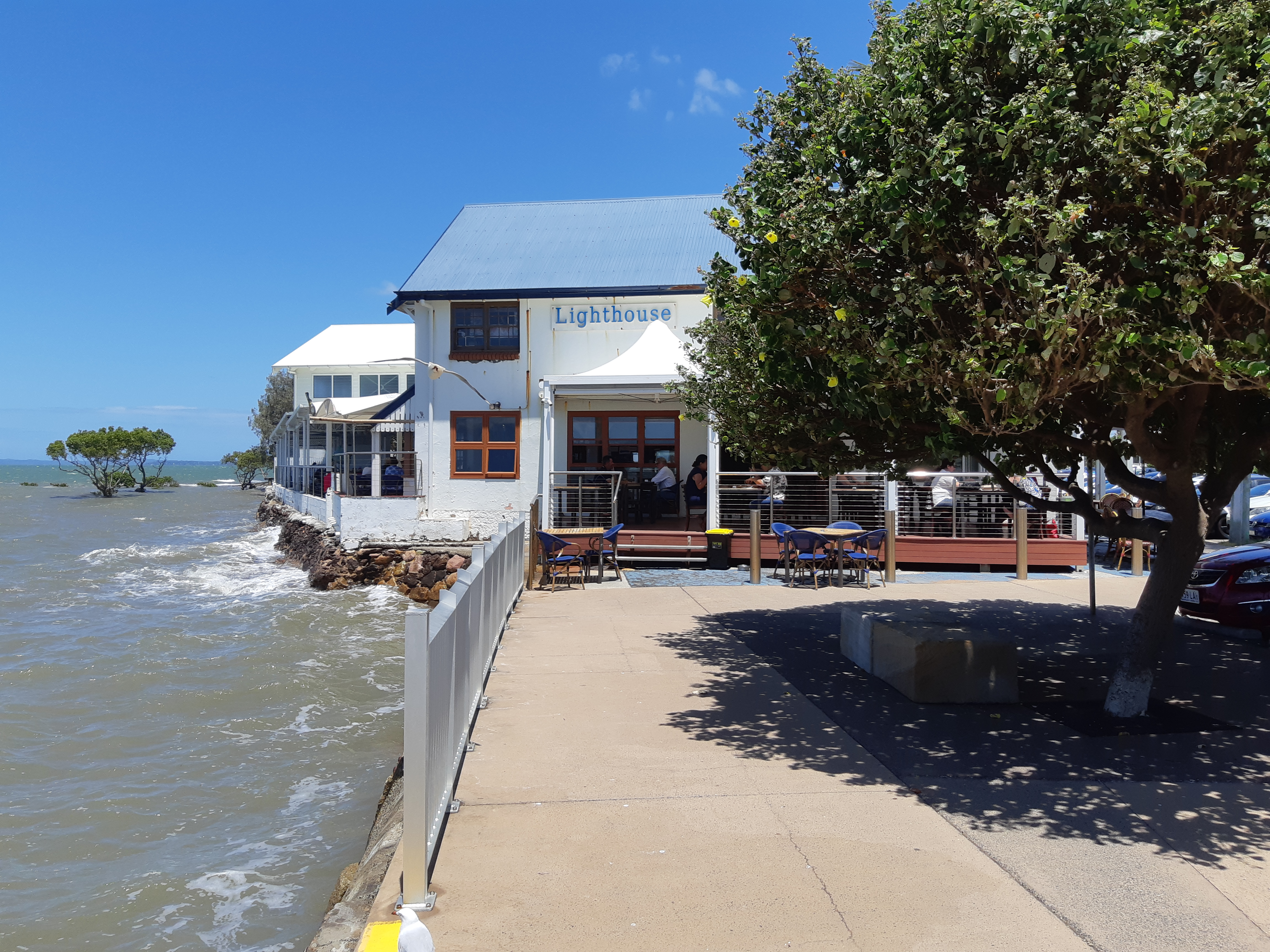 Walk Along the Promenade - Lighthouse Cafe