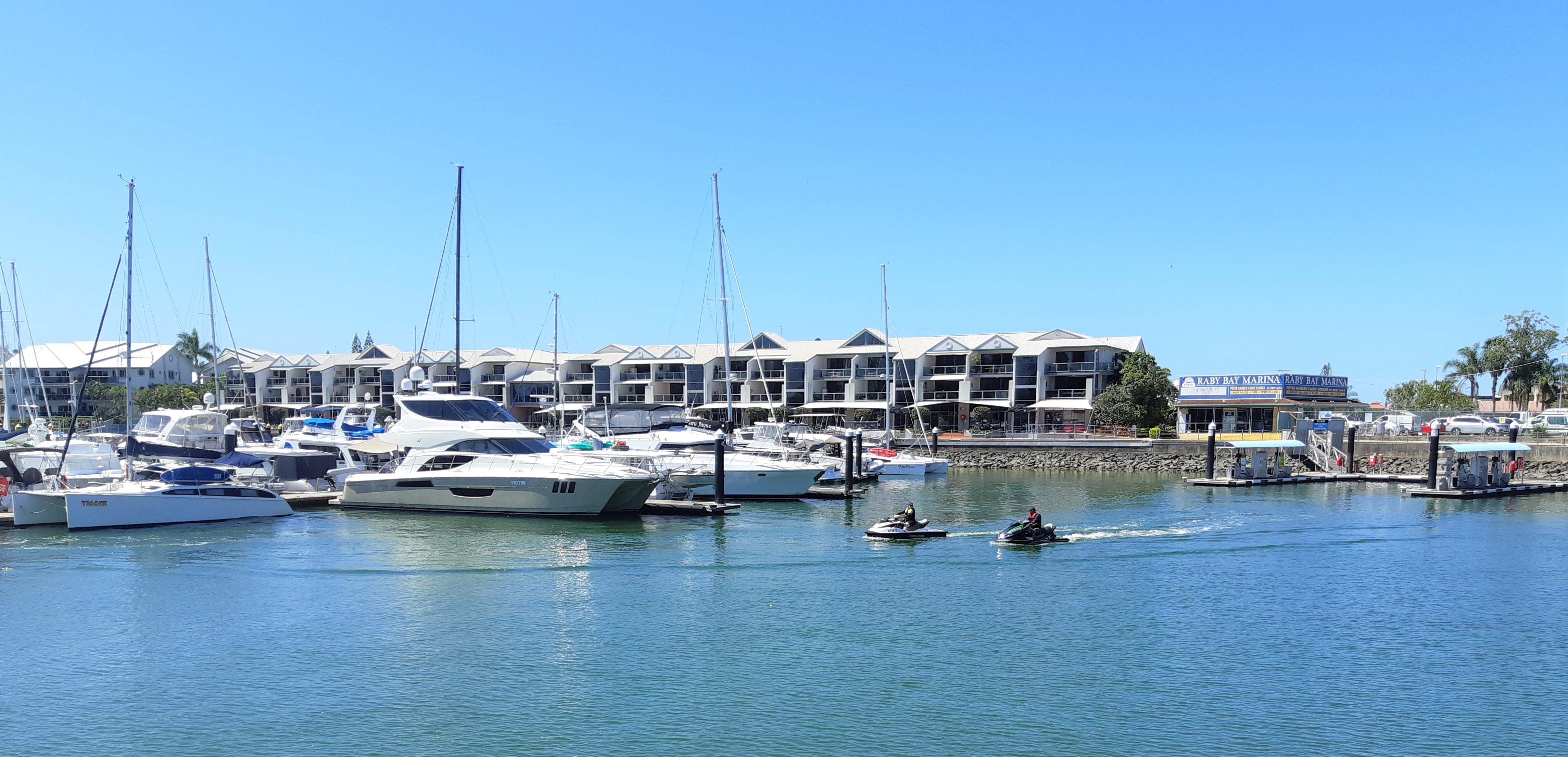 Raby Bay Marina
