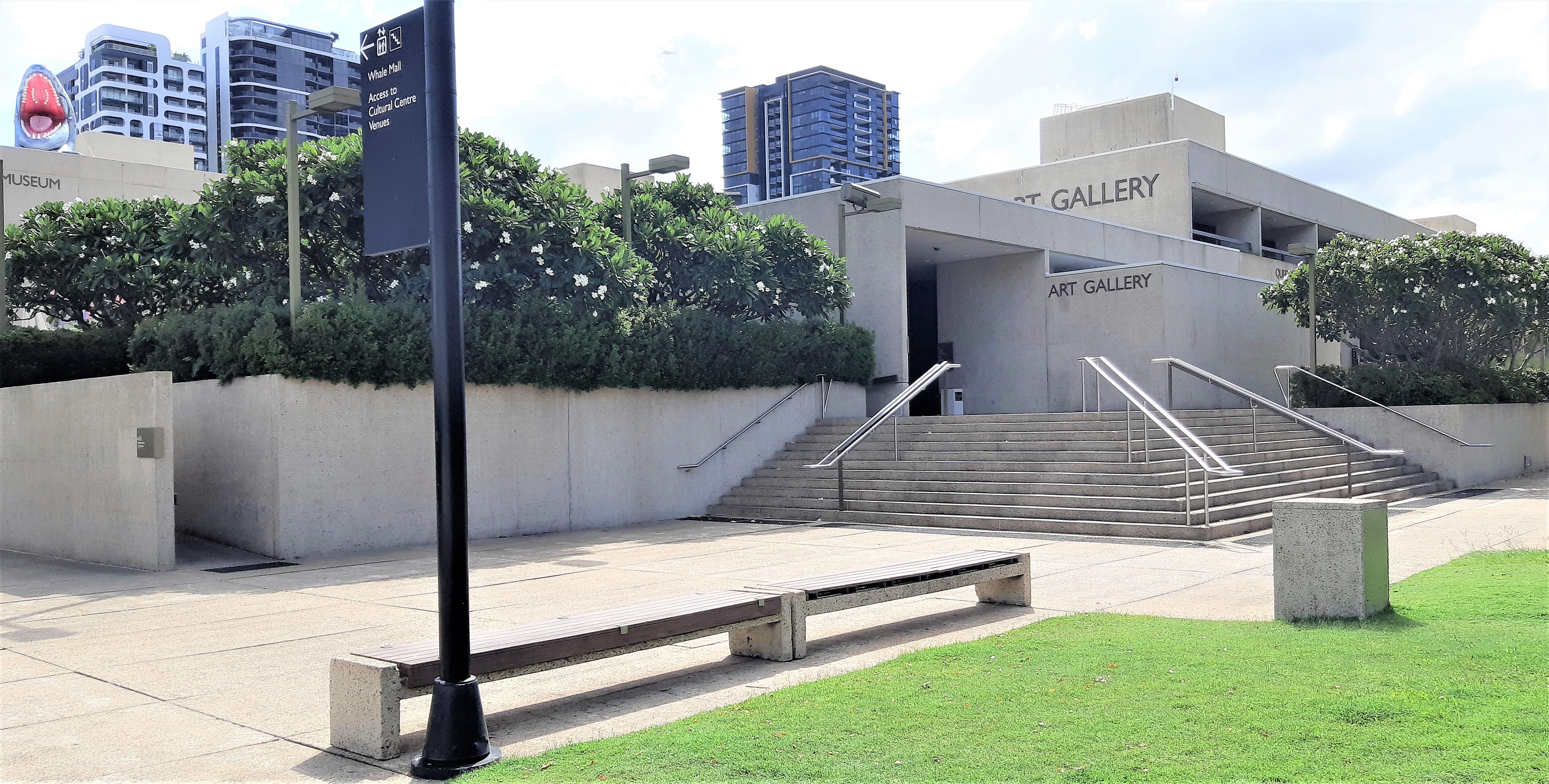 Museum & Art Gallery Forecourt
